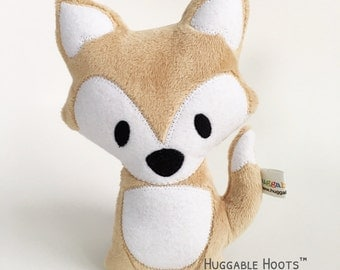 Stuffed Fox in Caramel - Stuffed Animals - Foxes - Plush Fox - Fox Toy - Kawaii Toy - Woodland - Personalized Animal - Custom Stuffed Animal