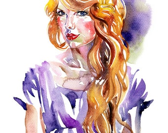 Taylor, limited edition fine art (giclée) print, 12 x 16 inches( 30.5 x 40.5 cm.)
