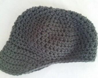 Newborn Size Newsboy Hat/Cap