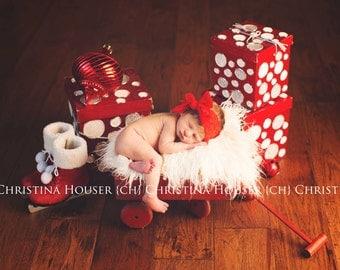 Baby Headband- Lace Knot Headwrap- Christmas Headband- Knotted Headband- Baby Turban Headband- Top Knot Headband