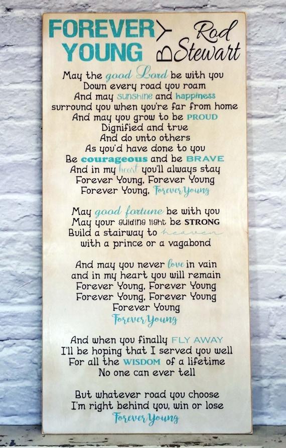 Forever Young Song Lyrics Song Lyrics Rod Stewart