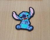 "Stitch (Lilo & Stitch) Embroidered Iron on Patch size 2 1/4"" x 2 3/4"""