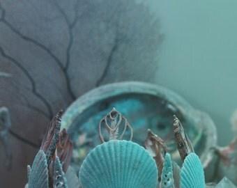 Aquamarine Mermaid Crown
