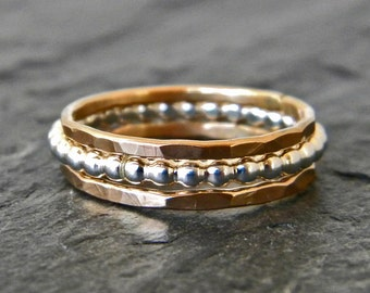 stackable rings � etsy