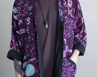 cosmic batik jacket - OS