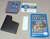 Nintendo Wheel Of Fortune Video Game