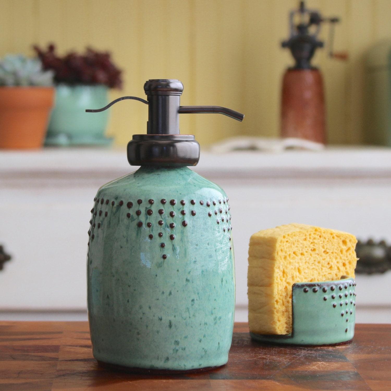 soap bottle dispenser in aqua mist lotion bottle or dish