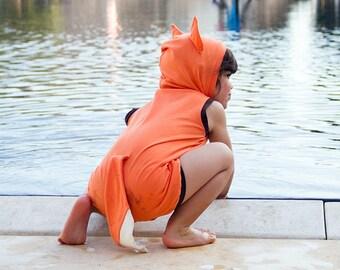 Fox Playsuit/ Fox costume/ Toddler Halloween costume/ kids Costume / Toddler costume/ Baby costume / Fox Jumper /Fox Romper