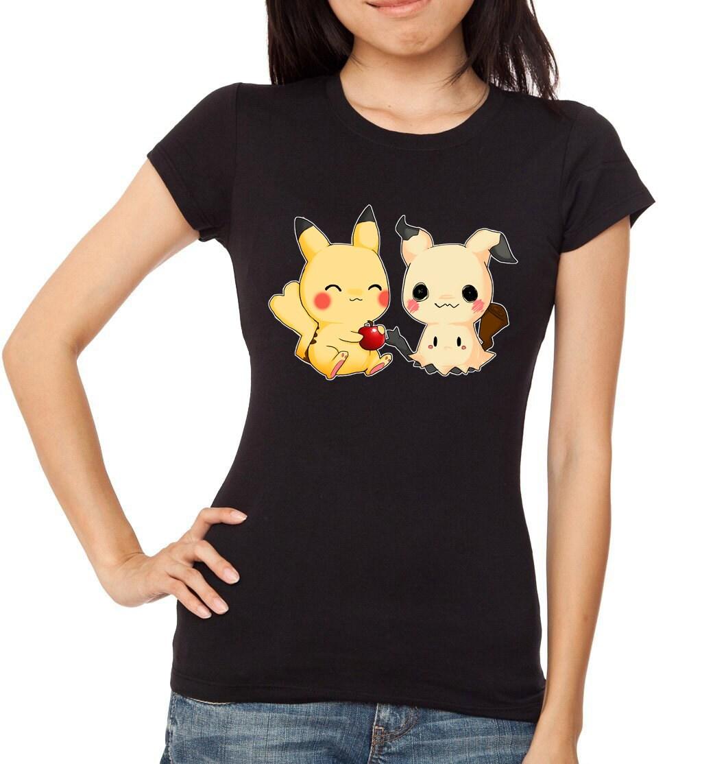 Pokemon Mimikyu And Pikachu T Shirt