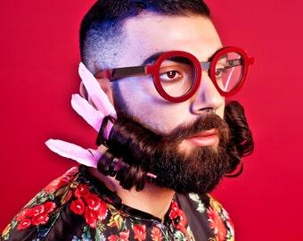 Plexi Shock Eyeglasses   Handmade Optical   Handmade Eyewear   Prescription Glasses   Optical Frame   Sunglasses   Handmade Eyewear   Frames