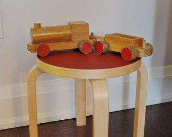 sale huge KAY BOJESEN vintage toy Train car danish mid century modern super rare
