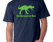Personalized daddy dinosaur shirt, mens dinosaur shirt, gifts for dad, father gift, new daddy gift, mens gift, fathers day gift