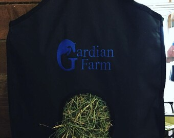 Embroidered Hay Bag