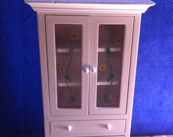 Kitchen,Bathroom Cabinet for Dollhouse,Multi Purpose Cabinet for Dollhouse, Inch = Foot