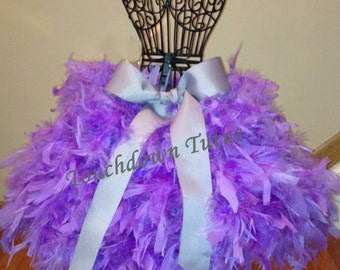 Lavender feather tutu or customize your own