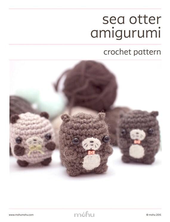 Free Amigurumi Otter Pattern : amigurumi otter pattern crochet otter pattern