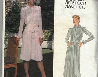 1980'sALBERT NIPON for VOGUE American Designer Pattern 2641 Misses Sz 8 Uncut Factory Folded oop