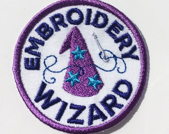 Embroidery Wizard Patch