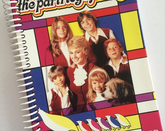 Partridge Family DVD made into a Spiral Bound Notebook