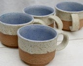 coffee cup, expresso cup, blue pottery cup, demitasse, tea cup, coffee lover, speckled stoneware, minimal pottery, dinnerware, foodie gift