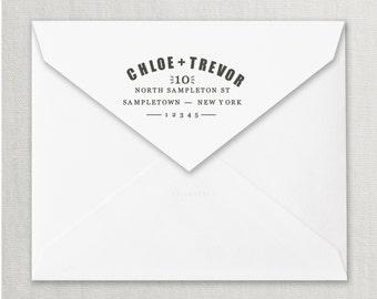 Custom Address Stamp, Family Return Address Stamp, Wedding address stamp, Invitation Stamp, Unique and Modern Return Address Stamp