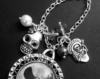 Jack Skellington Chunky Charm Necklace.