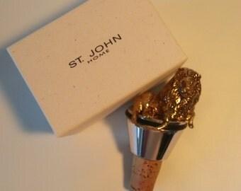 St John Home Lion Bottle-Stopper