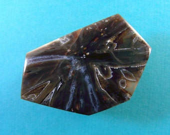 Turkish stick agate cabochon