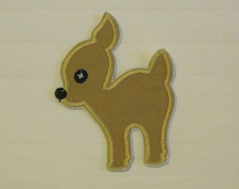 deer /fawn/ reindeer applique patch perfect for children's/baby clothing