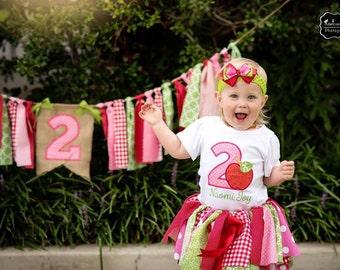 Apple shirt, apple birthday shirt, apple birthday, first birthday, apple picking, pink apple shirt, apple tutu, apple of my eye birthday UD