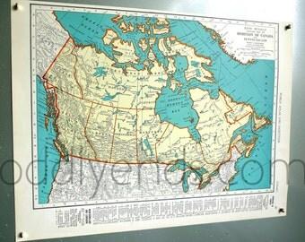 1939 Canada Atlas Map