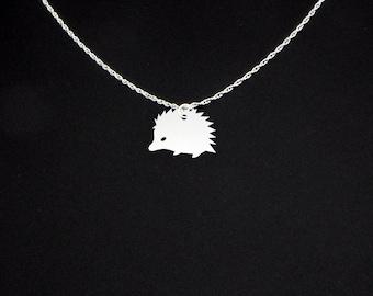 Hedgehog Necklace - Hedgehog Jewelry - Hedgehog Gift