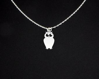 Owl Necklace - Owl Jewelry - Owl Gift