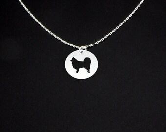 Swedish Lapphund Necklace - Swedish Lapphund Jewelry - Swedish Lapphund Gift