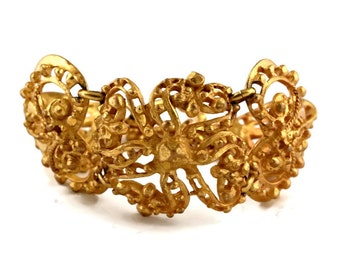 Vintage CHRISTIAN LACROIX Baroque Articulated Bracelet