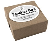 Teacher Box Pre - 2nd Grade, Teacher Appreciation Gift, Teacher Time Fillers, New Teacher Gift, Preschool Teacher Gift, End of Year Gift