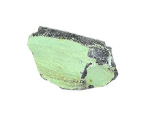 Variscite Green Crystalline Druzy in rock matrix, Mineral related to Turquoise Arkansas Geology Specimen for a Gemstone collection or Rough