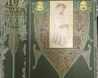 Ben-Hur, A Tale of the Christ, The Player's Edition, by Lew. Wallace, illustrated with scenes and characters from the play, Harper & Br.1903