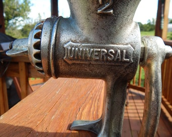 1920's Universal Meat Grinder #2 - Complete with Box