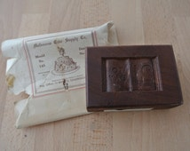 Vintage Wooden Fondant Icing / Marzipan Mould 21st Birthday Made in Australia Mold 21 Book