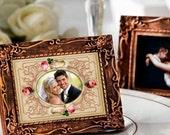 WEDDING PHOTO FRAMEs - Printable Download Digital Collage Sheet ChikUna Art Paper Craft Scrapbook