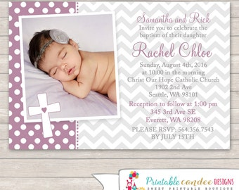 Christening invite | Etsy