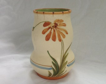 Antique 1920s Signed Weller Pottery Vase-Handpainted Bonito Pattern