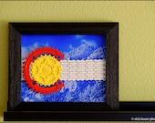Colorado Flag - bike parts