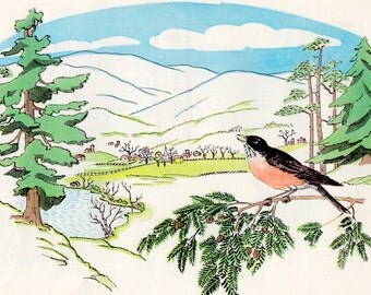 The Restless Robin by Marjorie Flack