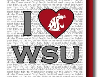 I (heart) Washington State University