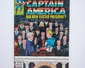 "Marvel What If #26 - ""What if Captain America Had Been Elected President"" - VF (8.2) - Captain America"