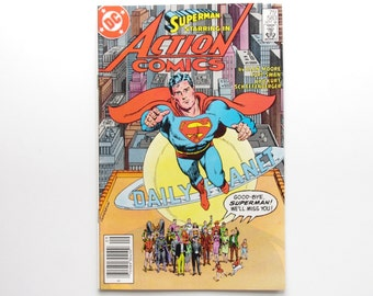 """Action Comics Vol. 1 #583 - """"What Ever Happened To the Man of Tomorrow? Part Two"""" - NM"""