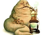 Star Wars - Jabba the Hutt - open edition art print