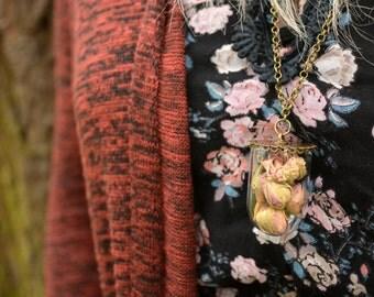 Rosebud Dome Necklace
